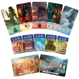 Panthéon – Extension 7 Wonders Duel