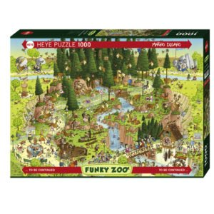 Puzzle 1000 Pièces – FUNKY ZOO – HEYE