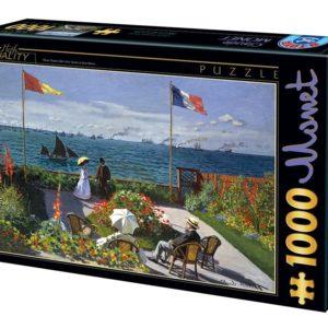 Puzzle 1000 Pièces – Garden at St Adresse – Claude Monet