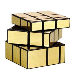 Rubik's Cube Mirror Gold