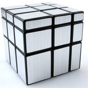 Rubik's Cube Mirror Silver